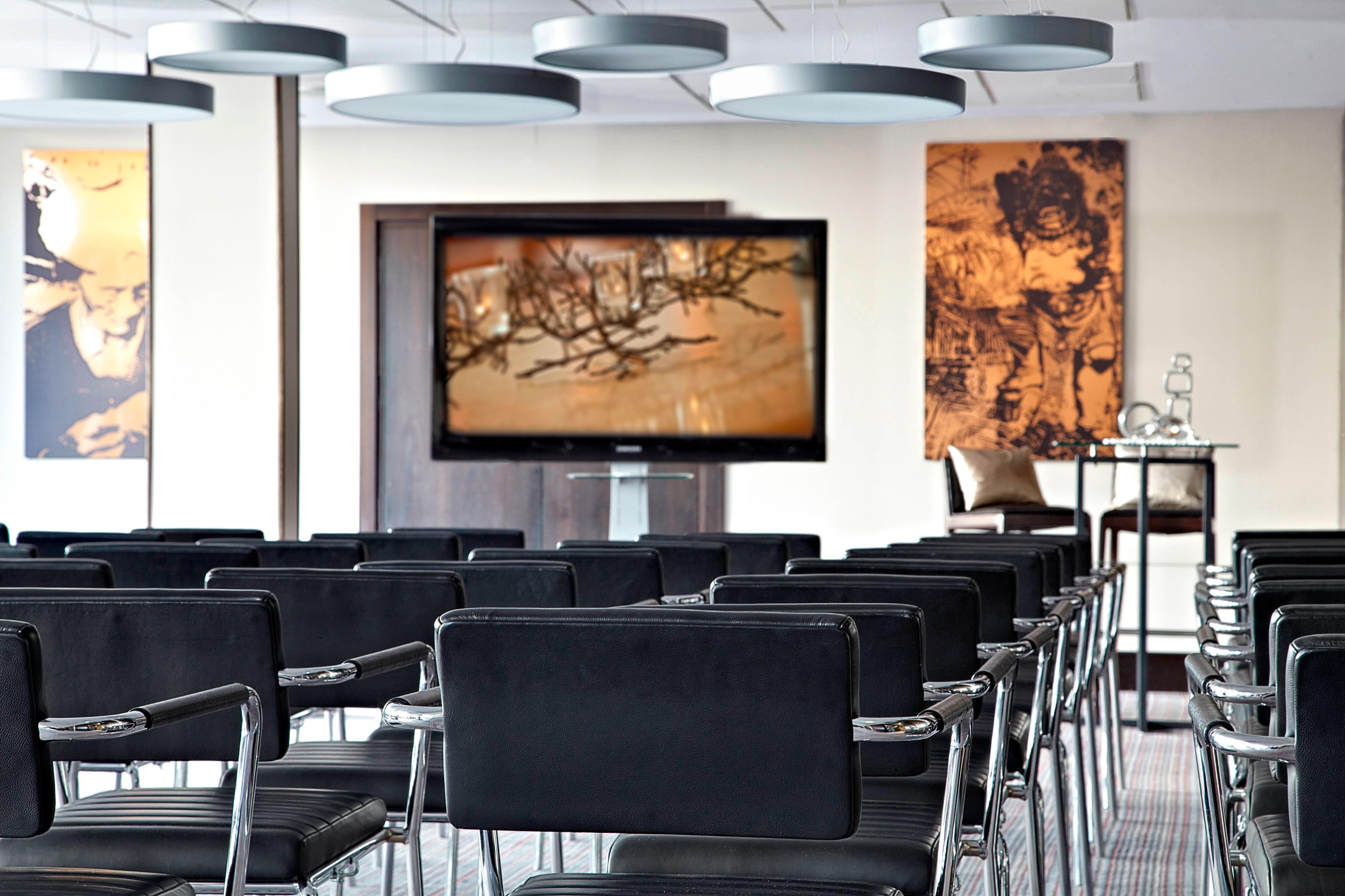 Sala de reuniones  - Disposición estilo teatro