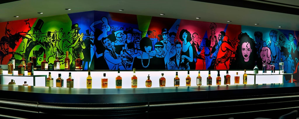 Brûlé Bar & Yué Wu s ArtWork