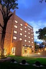Hotel building in Puebla, Mexico