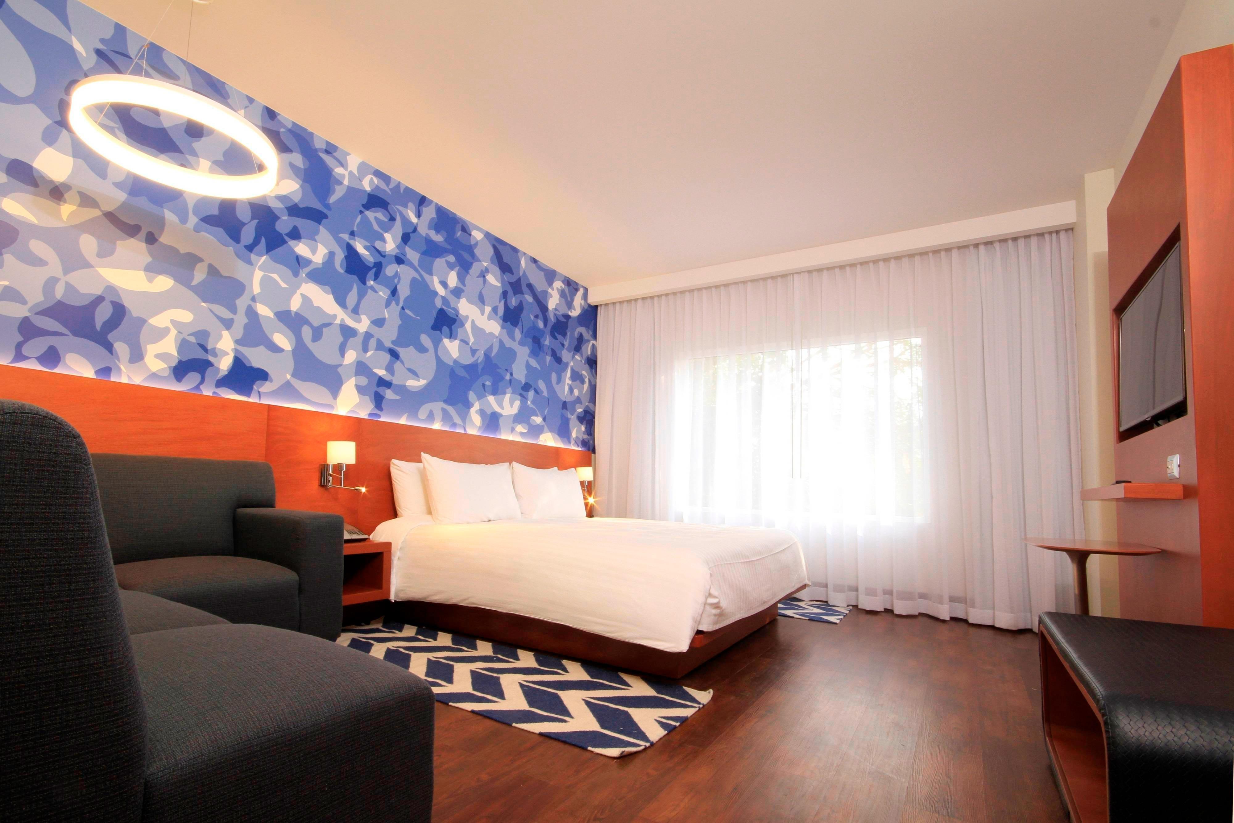 Hotel guest room Puebla