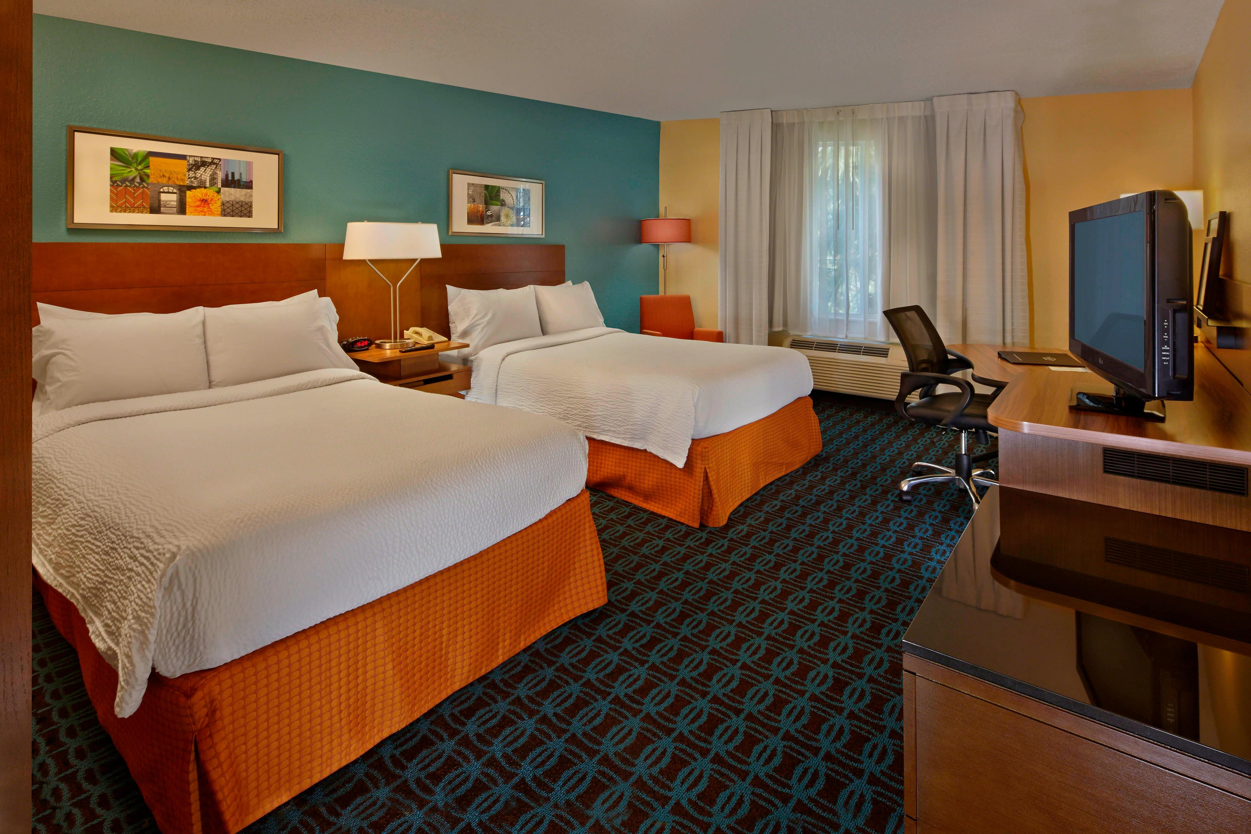 Fairfield Inn & Suites, Boca Raton Hotel Rooms