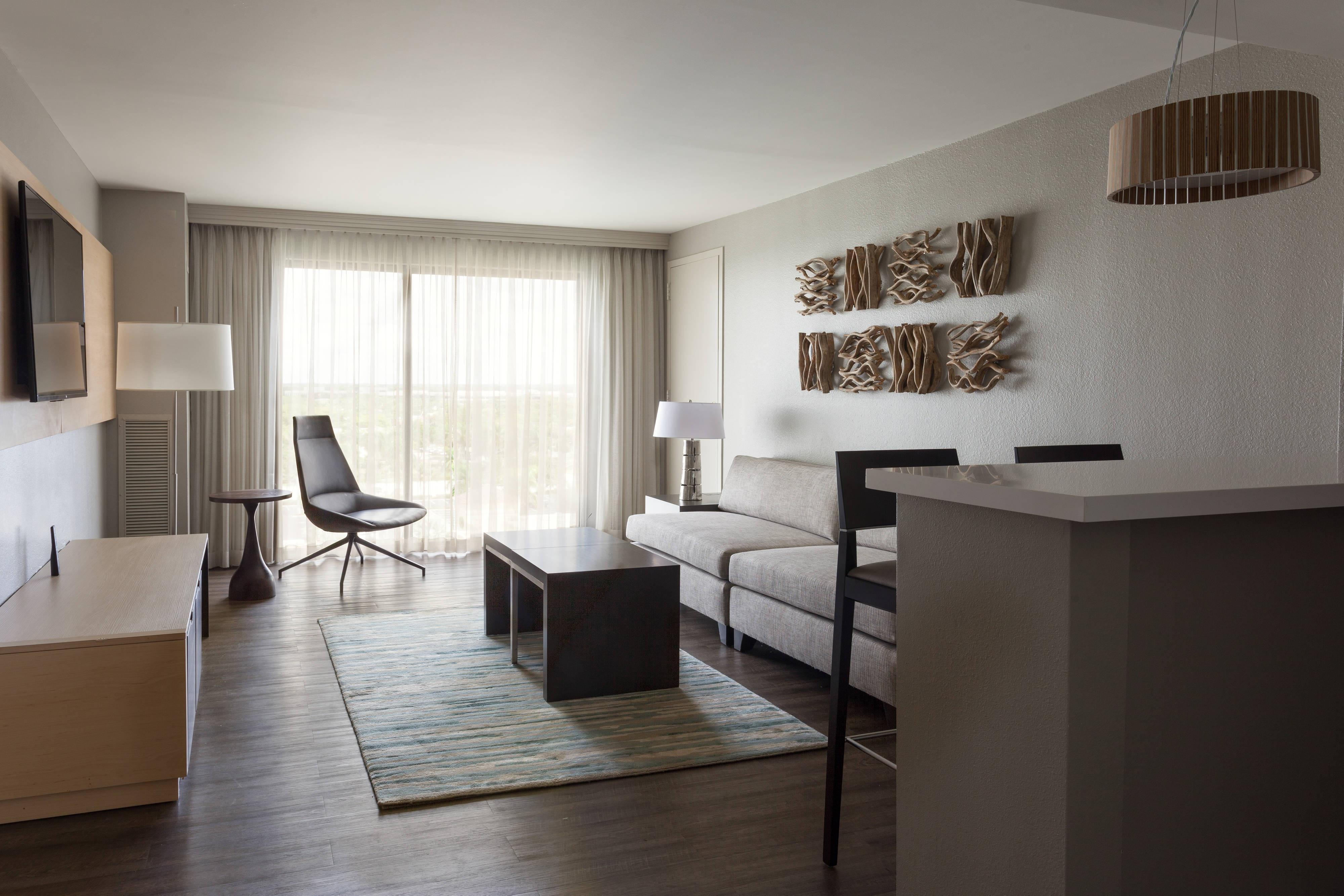 Suite en el nivel concierge - Sala de estar