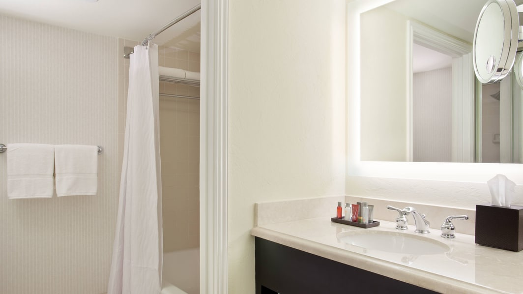 Guest Bathroom – North Tower