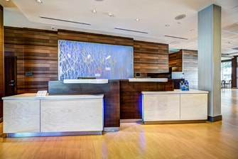 Delray Beach hotel front desk