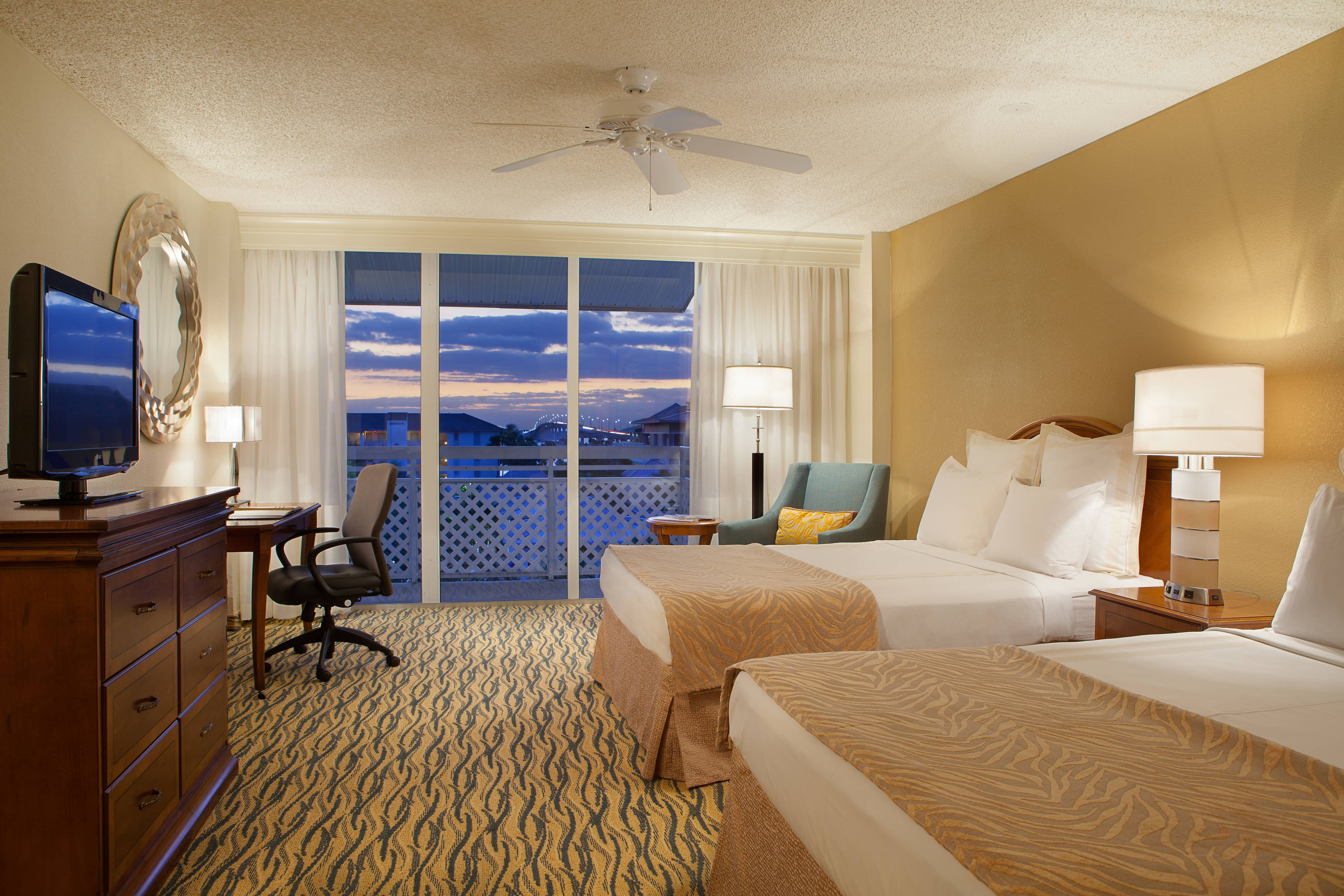 Double/Double Main Hotel Guest Room