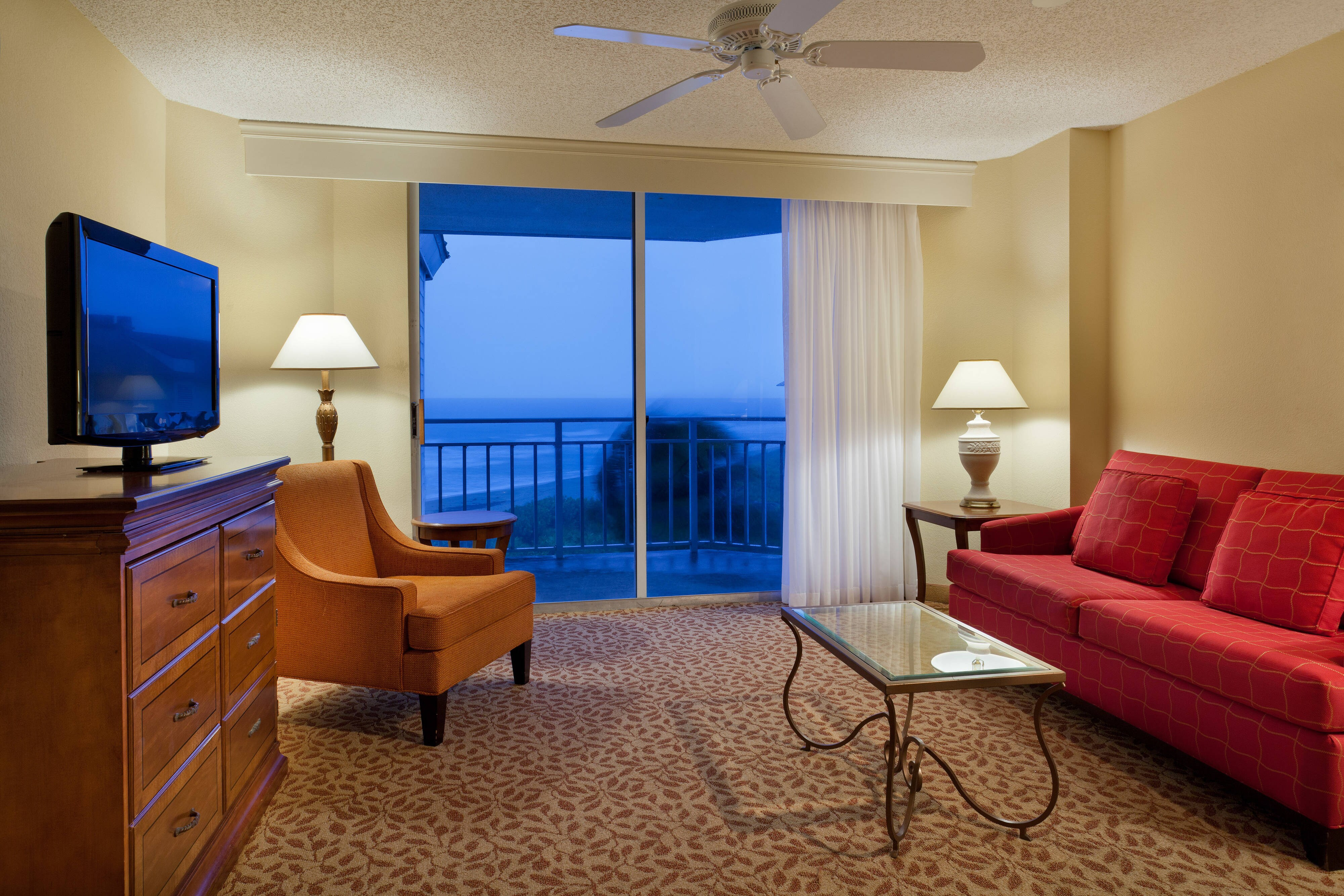 Sandpiper Ocean View Suite Living Area