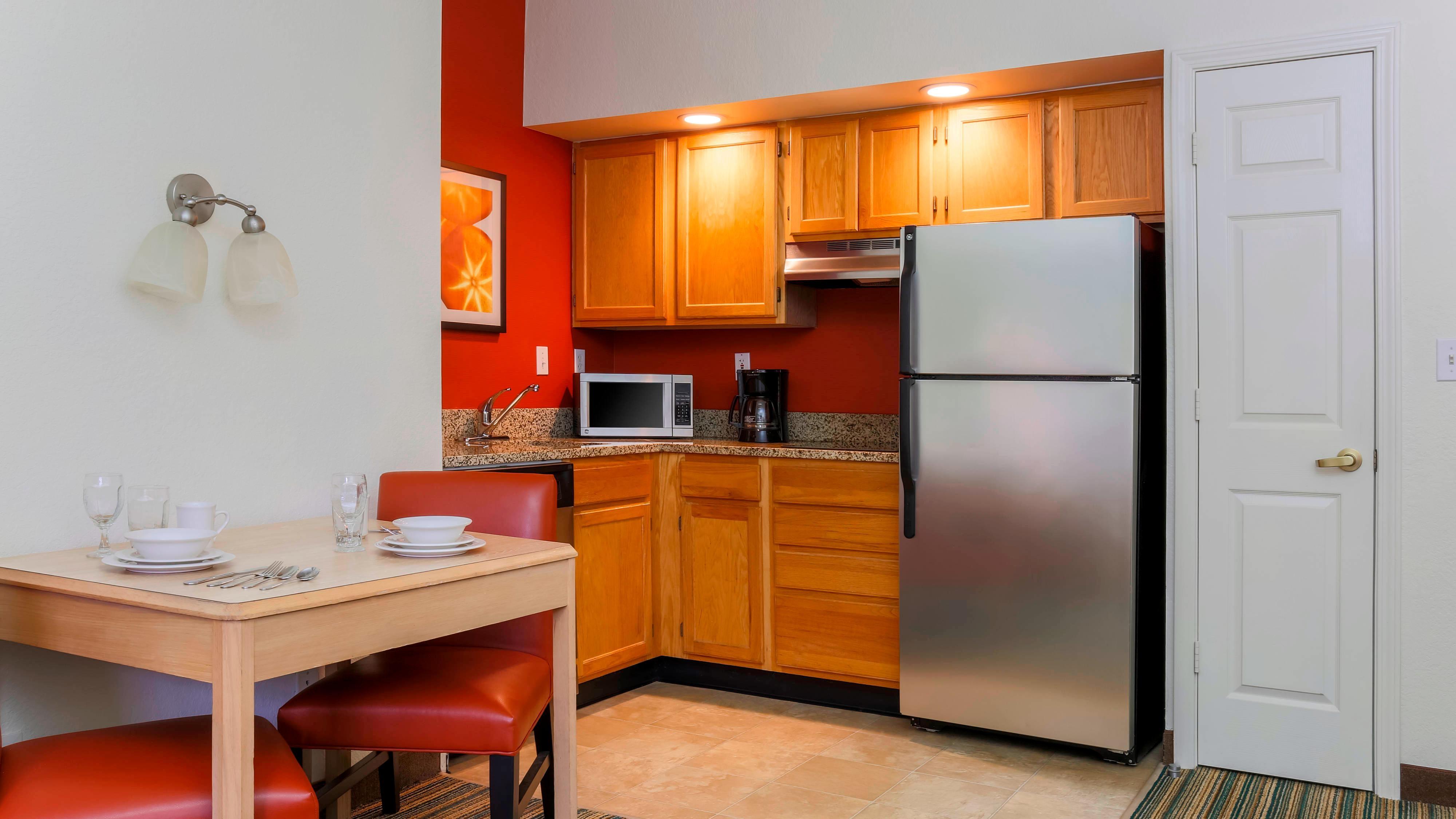 Küche einer Suite in West Palm Beach