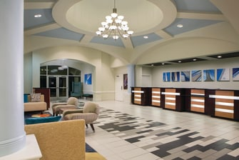 Palm Beach Shores Hotel Lobby