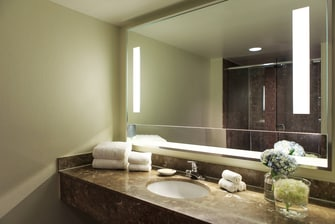 Boca Raton Luxury Suite Vanity