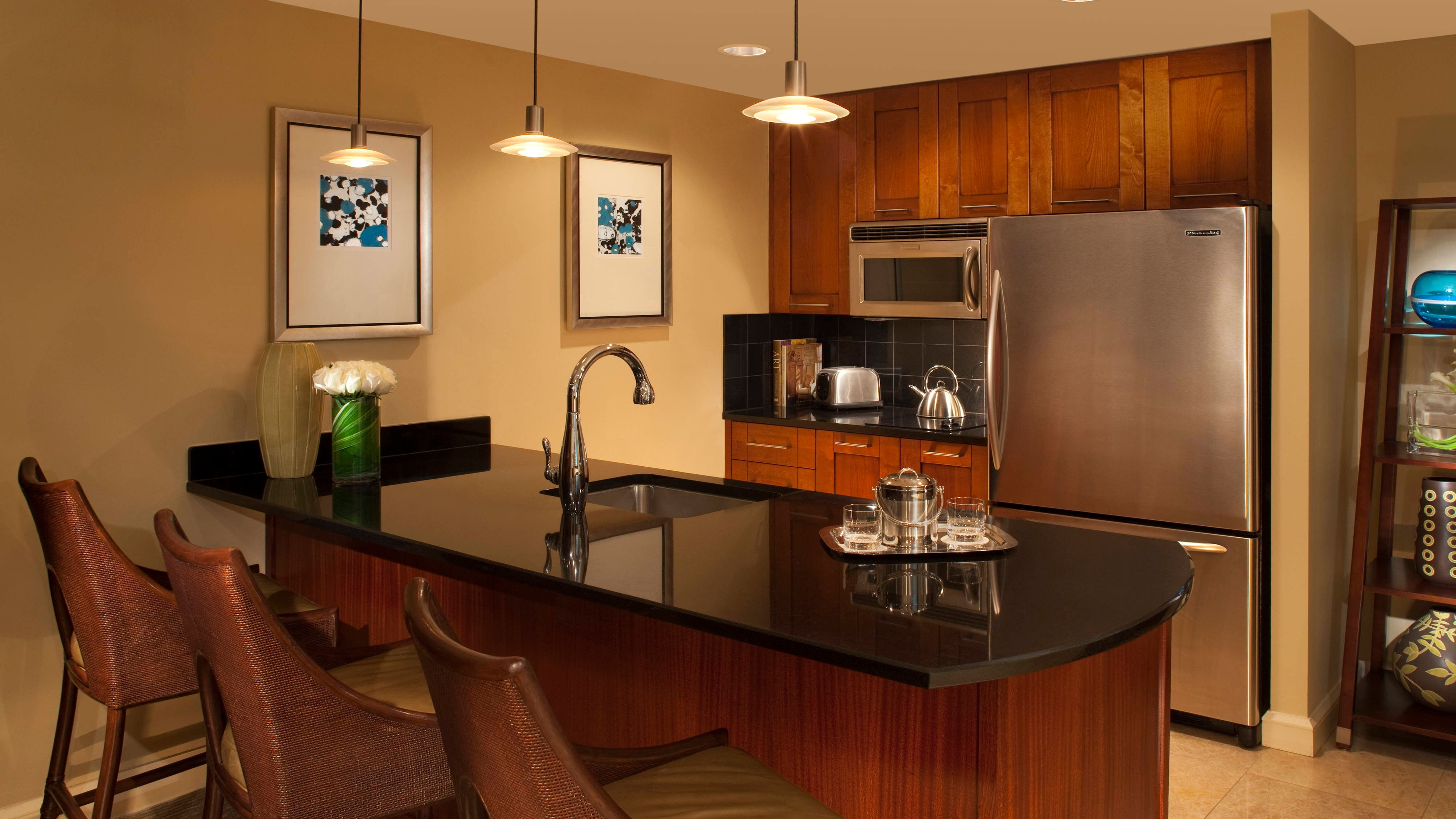 Singer Island Marriott Kitchen