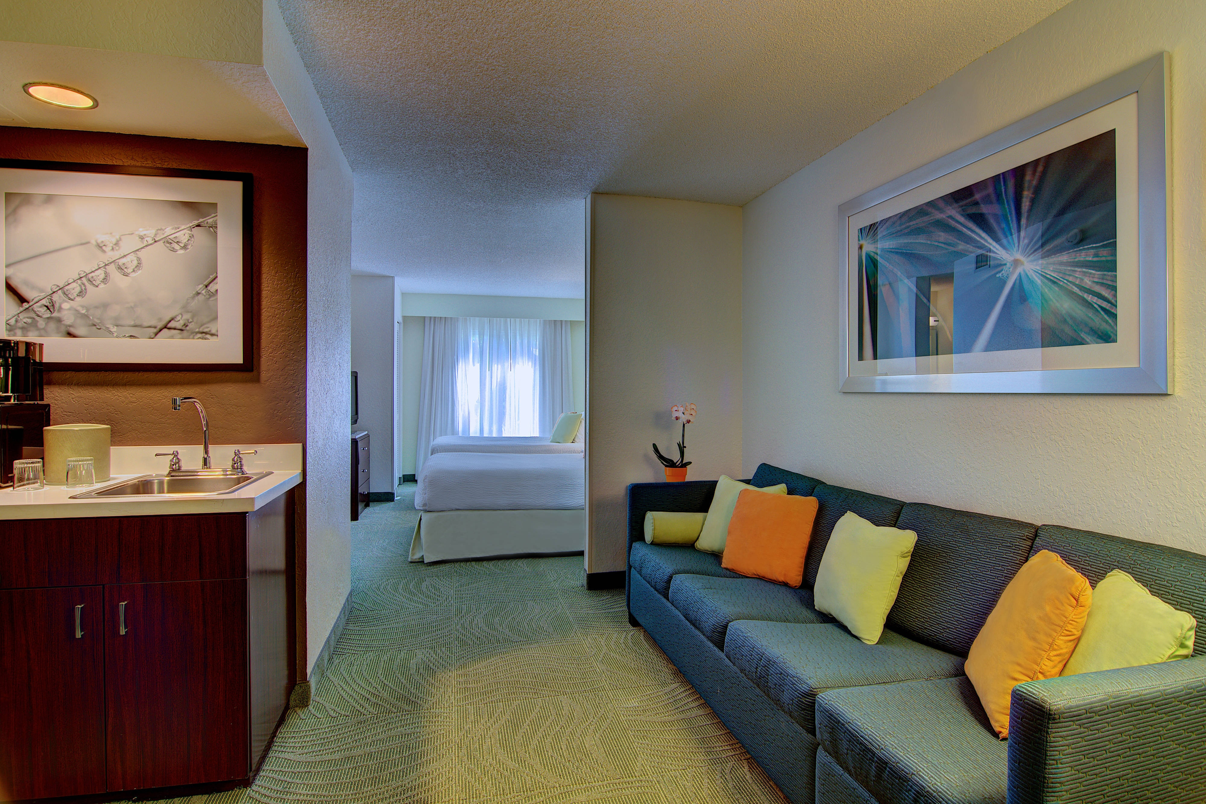 SpringHill Suites Boca Raton Two Double Bed Suite