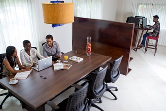 Suriname Business Center at Hotel