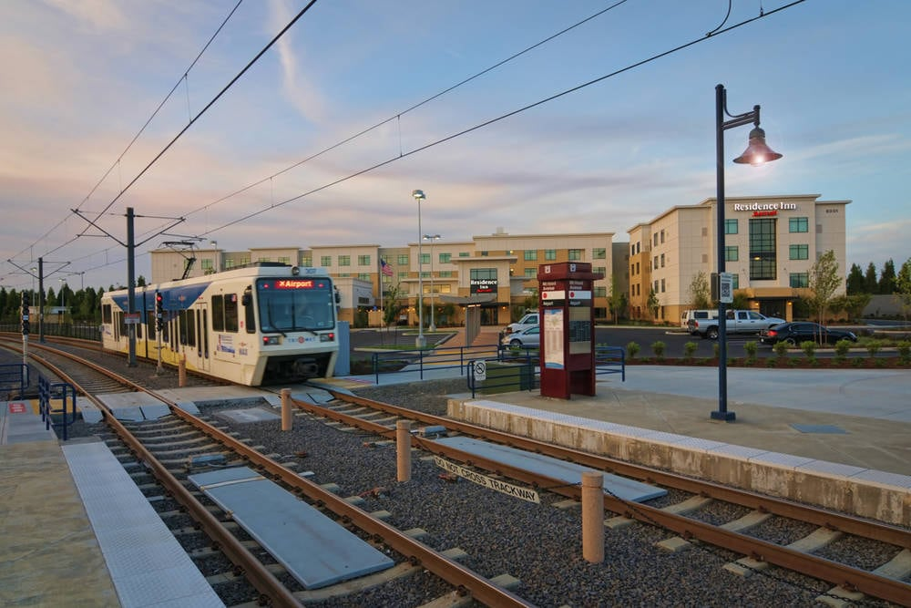 Residence Inn Portland Airport MAX Train