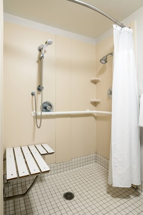 Accessible Double/Double Guest Bathroom