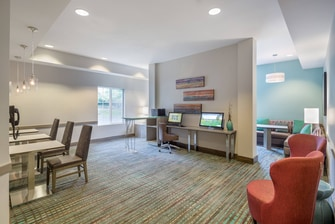 business center Marriott Residence Inn Hillsboro