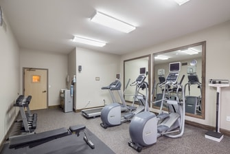 24 hour on-site fitness center Residence Inn Hillsboro