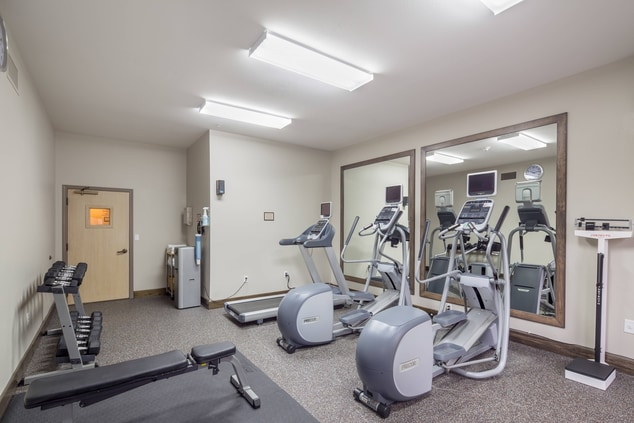 24 hour on-site fitness center Residence Inn Hillsboro