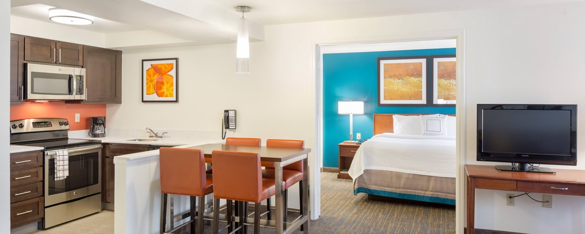 Marriott in Hillsboro OR two bedroom suite