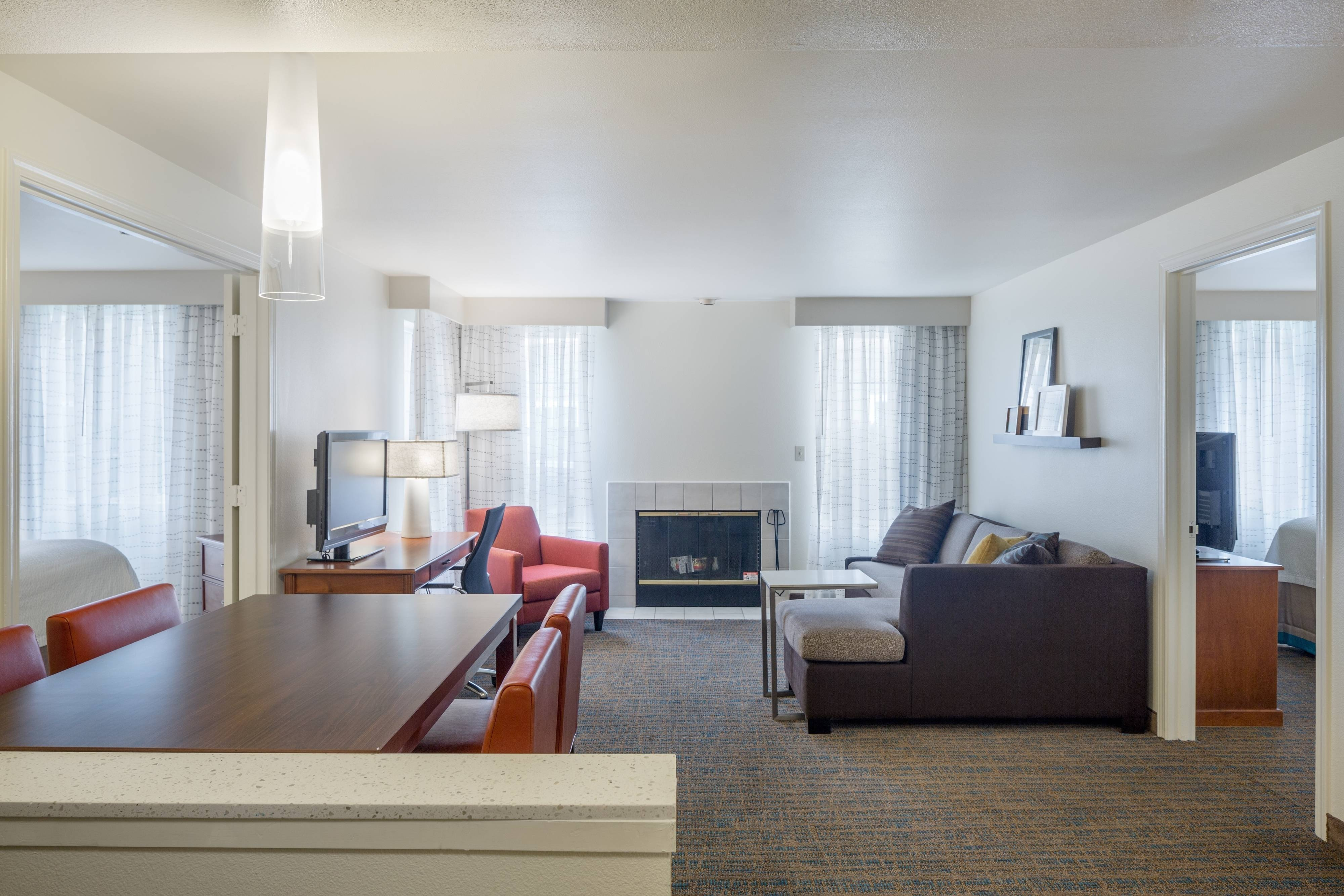 two bedroom suite Marriott hotel near Intel