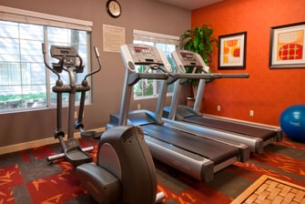 Portland Oregon Hotel Fitness Center