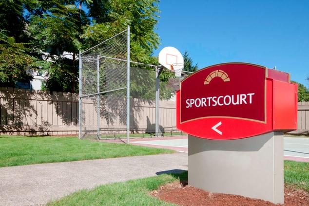 Portland Oregon Hotel Sport Court