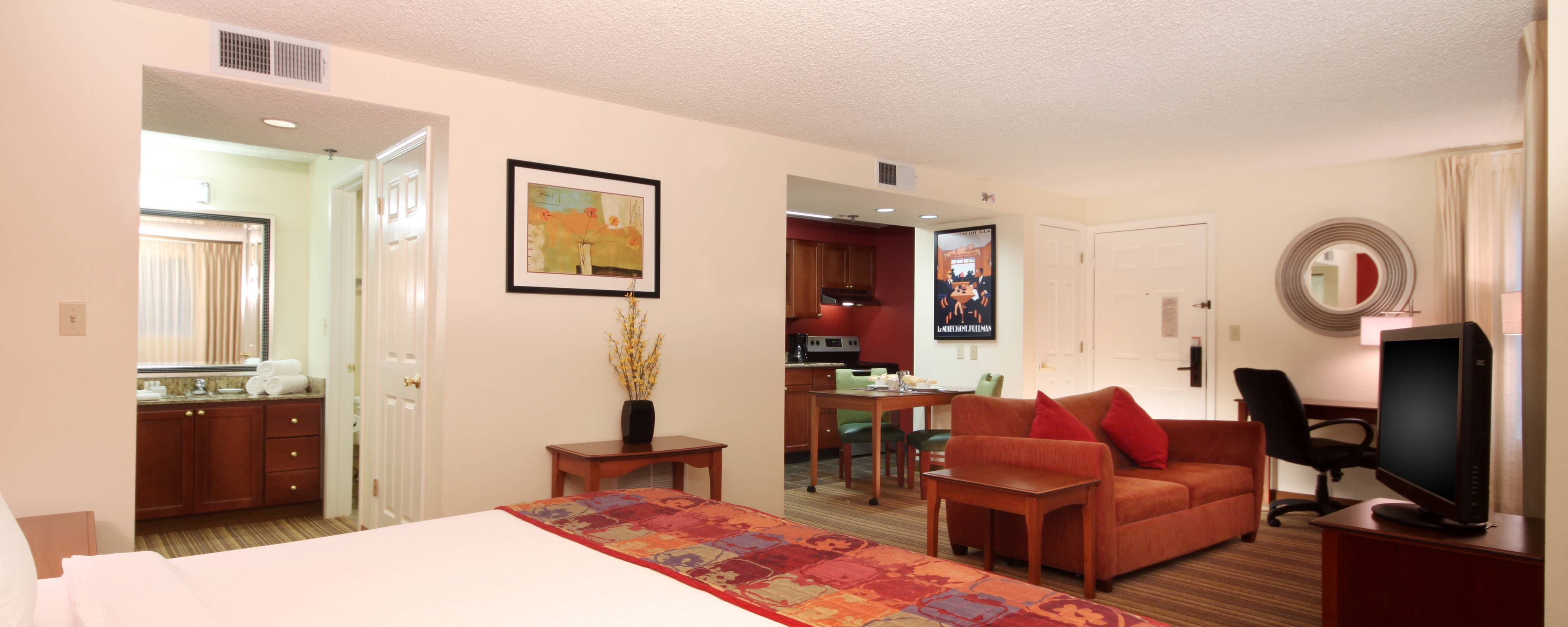 Portland downtown Hotel Studio Suite