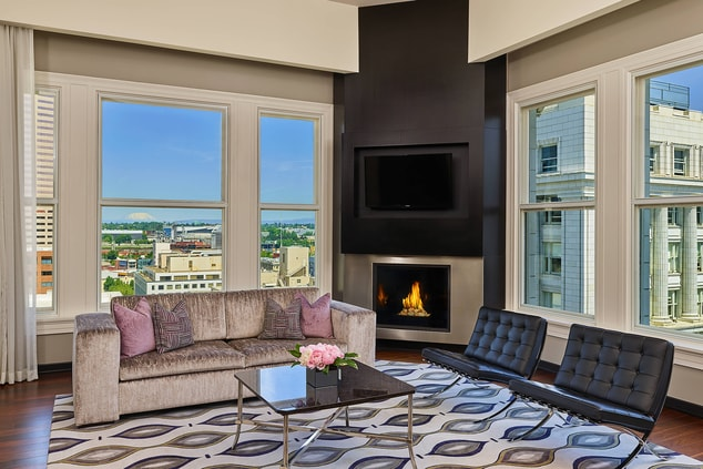 The Nines Suite - Living Room