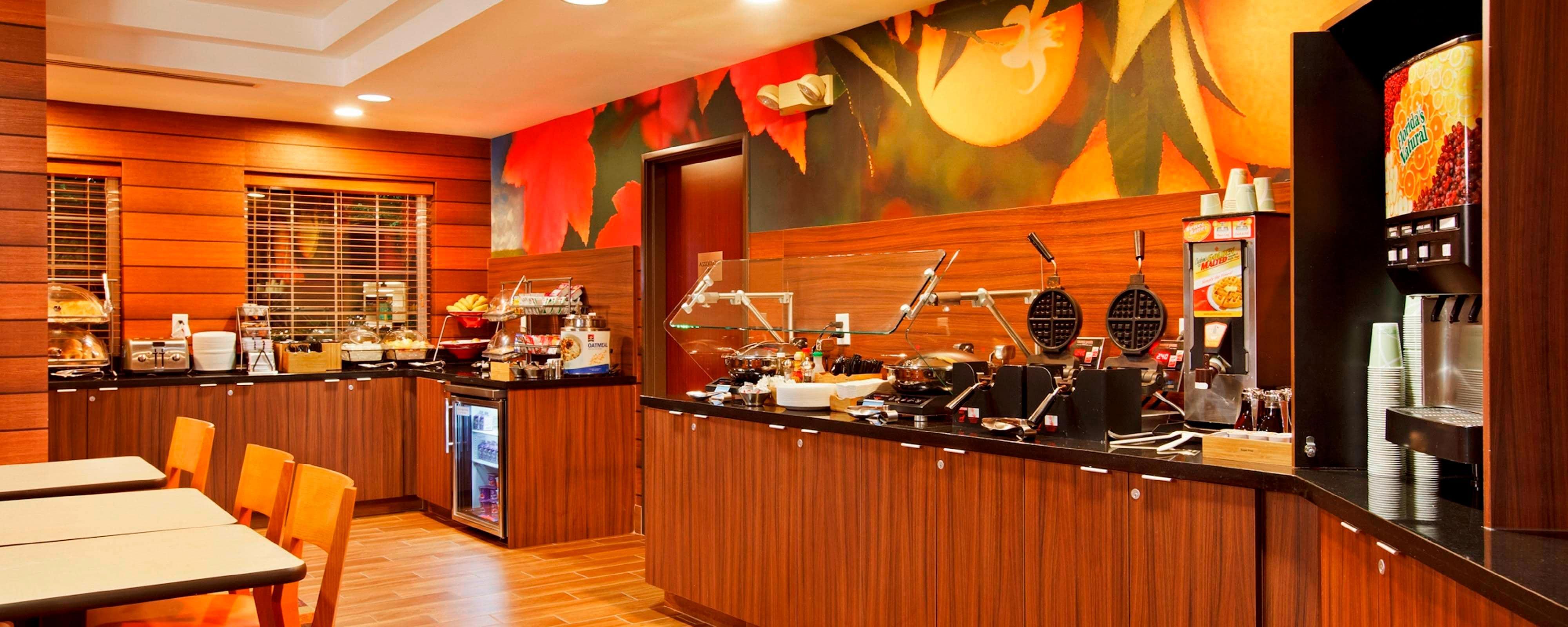 Lake Oswego hotel restaurants | Fairfield Inn & Suites Portland ...