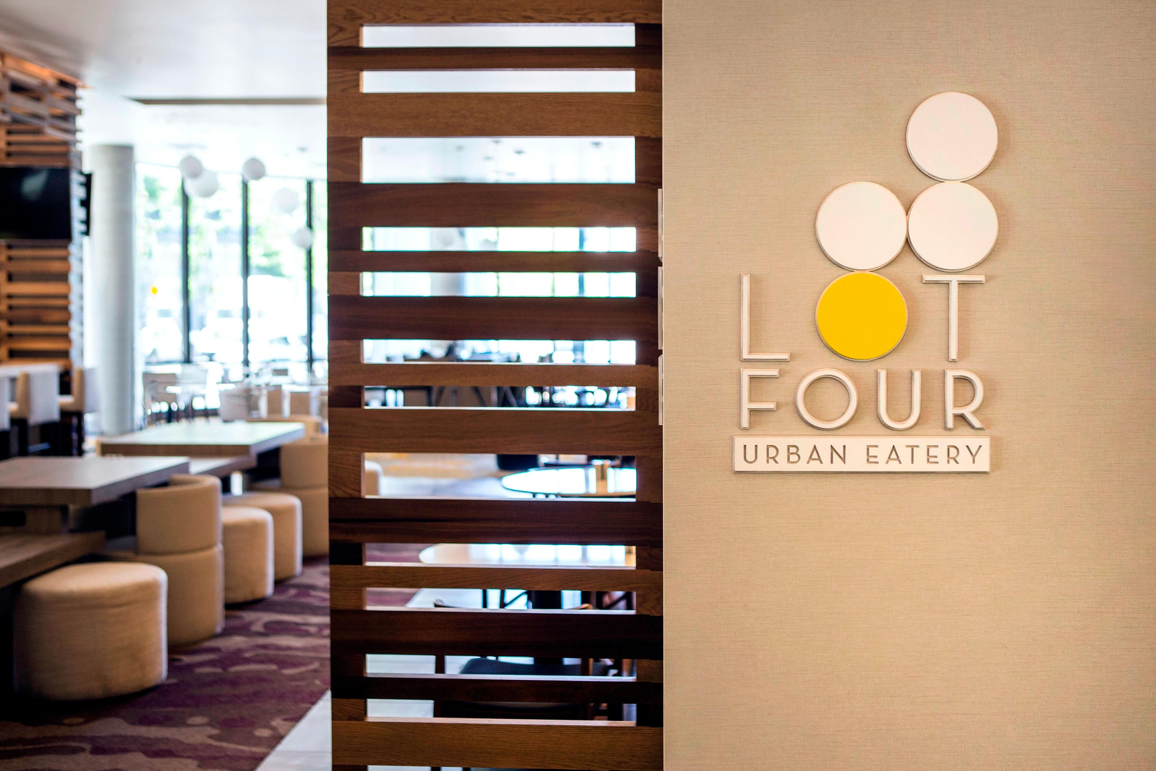 Lot 4 Urban Eatery Restaurant Entrance