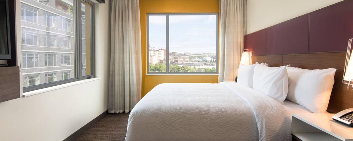 Portland oregon hotels residence inn portland downtown - 2 bedroom suites portland oregon ...