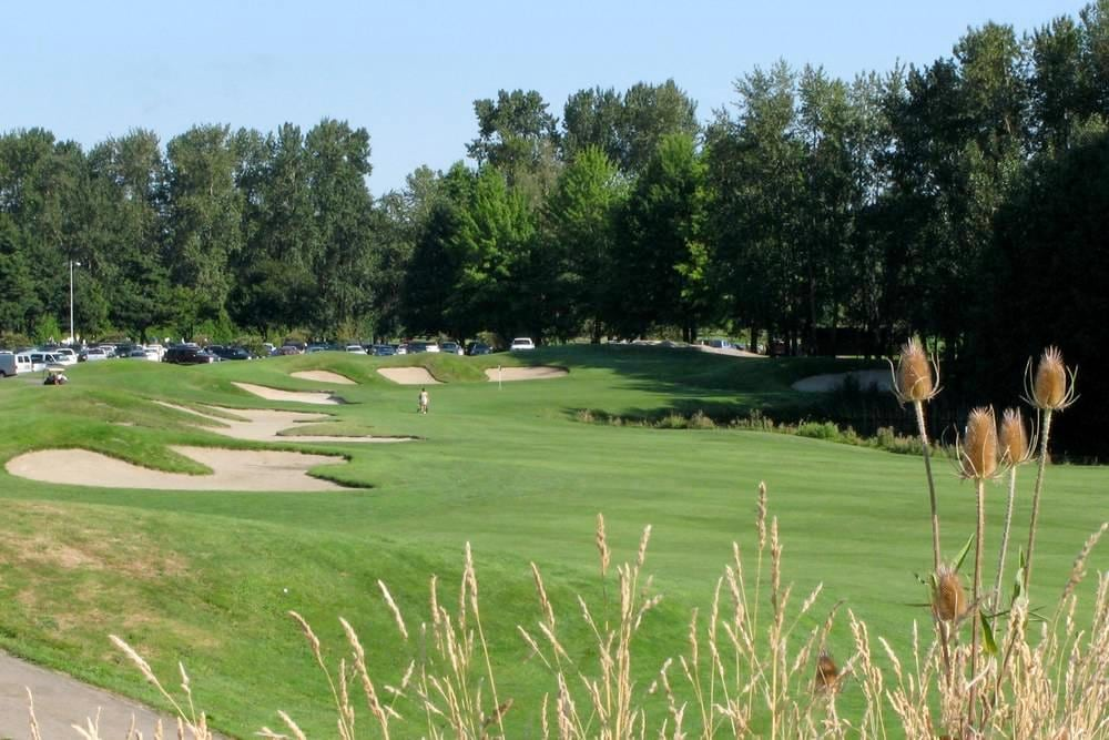 golf course near Portland extended stay Marriott hotel