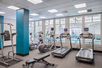 Fitness Center Marriott Residence Inn Portland