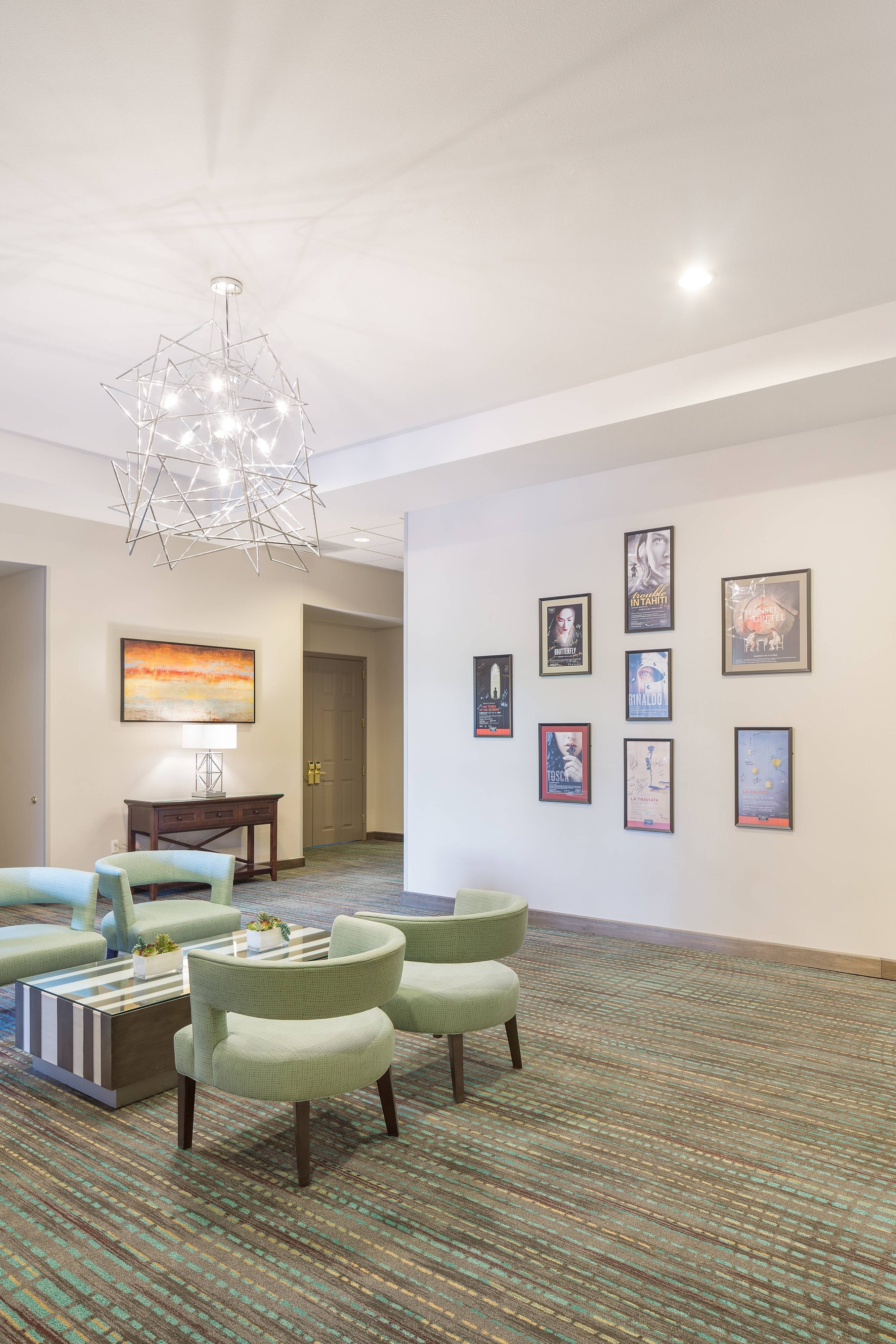 Pre-Function Space Residence Inn Portland Downtown