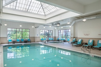 Indoor Pool & Hot Tub downtown Portland RiverPlace hotel