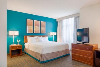 studio suite Marriott Residence Inn downtown Portland