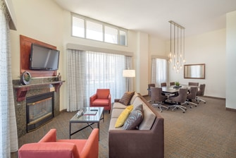 Executive Suite Downtown Portland Residence Inn