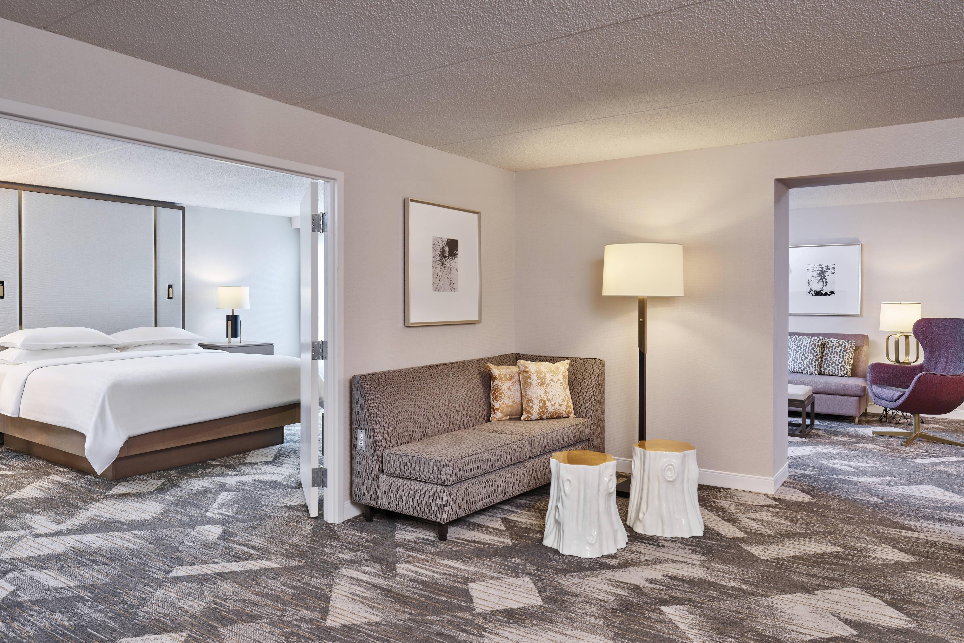 Gastsuite – Schlafzimmer