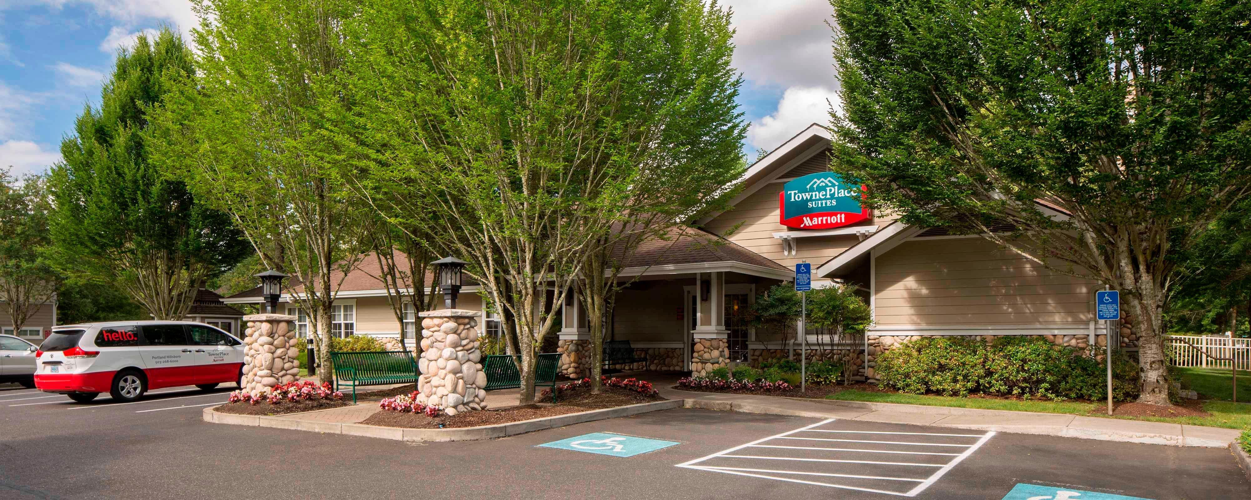Portland Hillsboro OR hotels | Hillsboro Marriott extended stay ...
