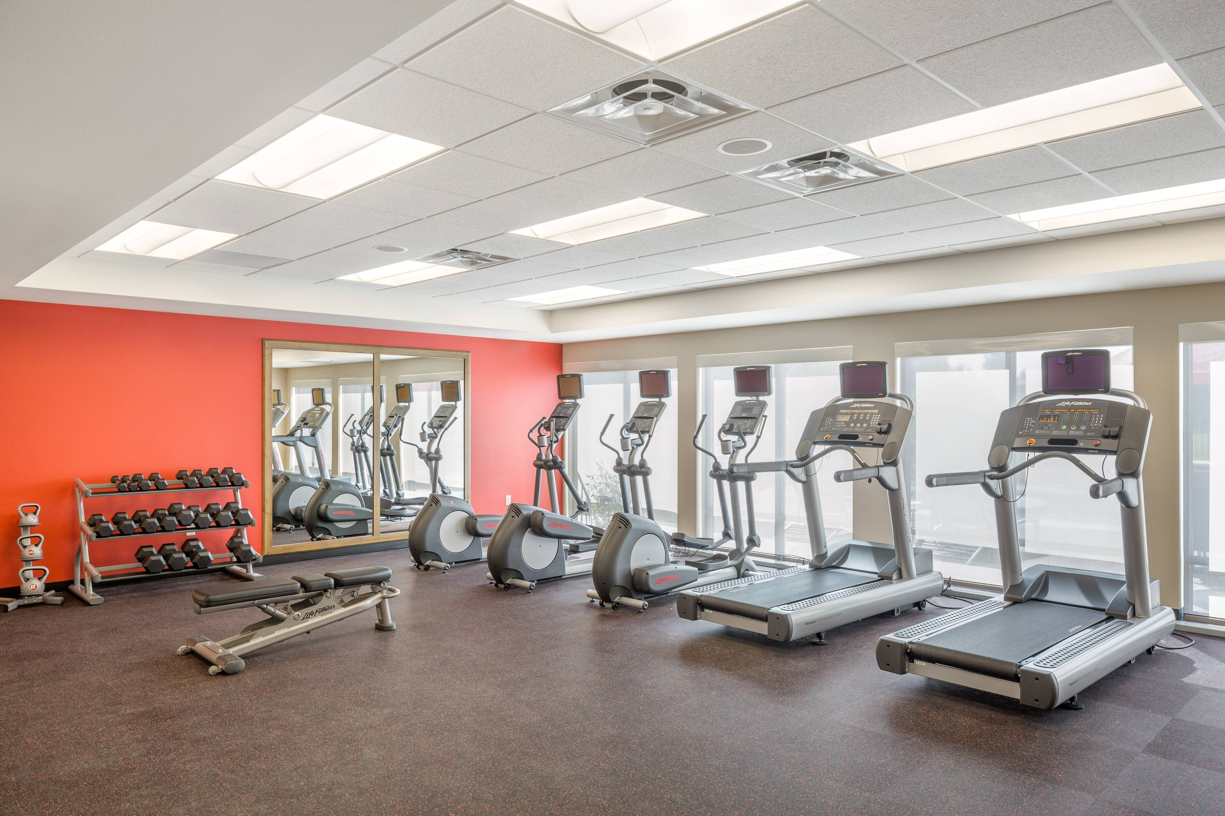 hotel fitness center TownePlace Suites Vancouver WA