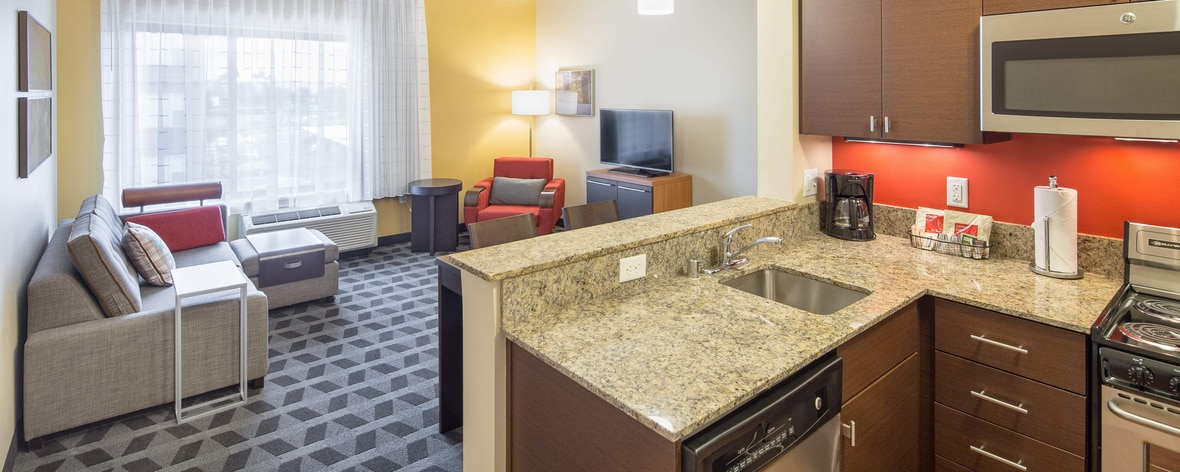 Vancouver WA Marriott two bedroom suites