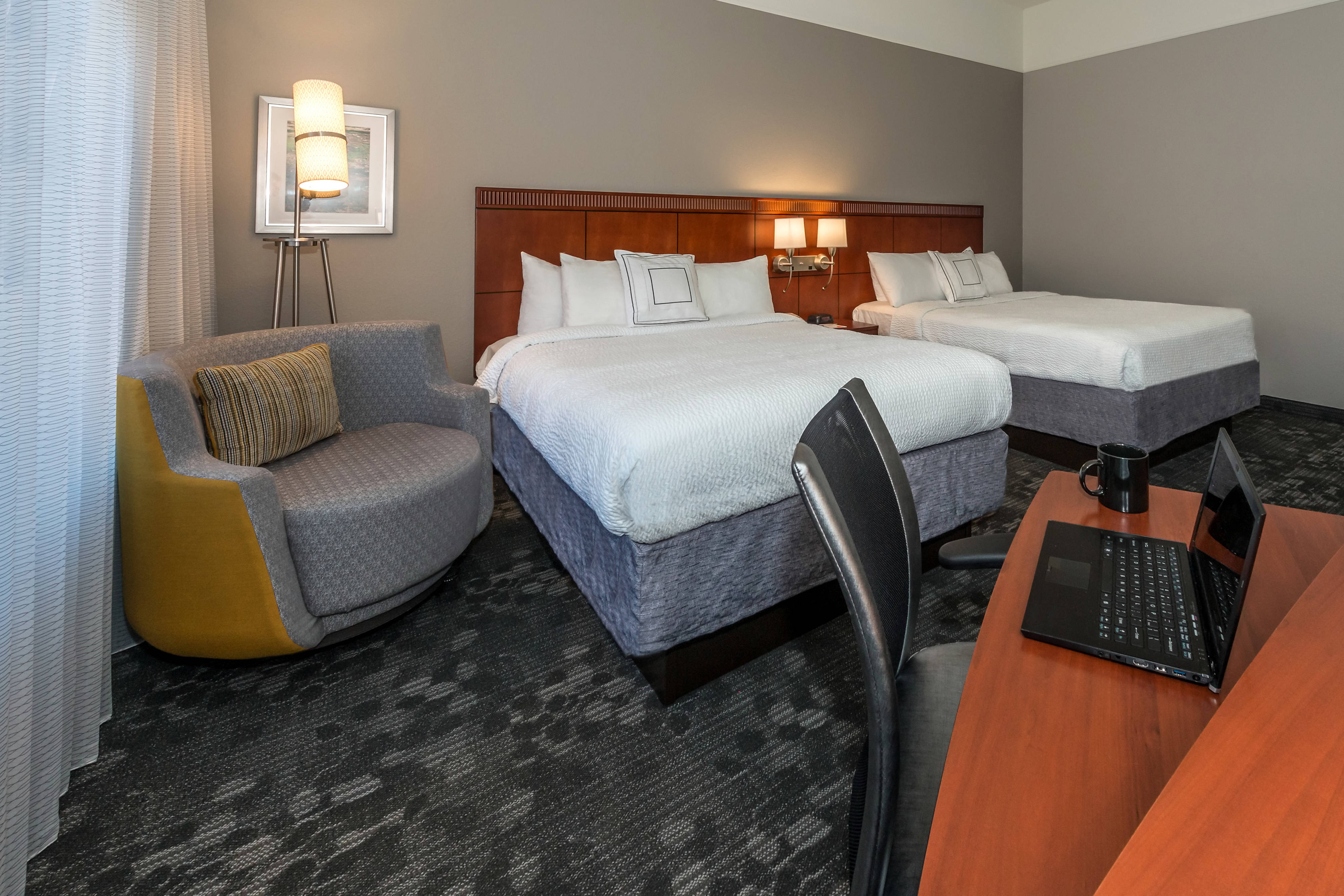 Habitación con dos camas Queen - Sala de estar