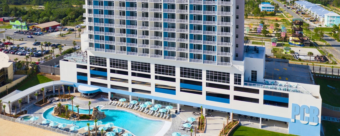 Hotels In Panama City Beach >> New Pcb Hotel Springhill Suites Panama City Beach Beachfront