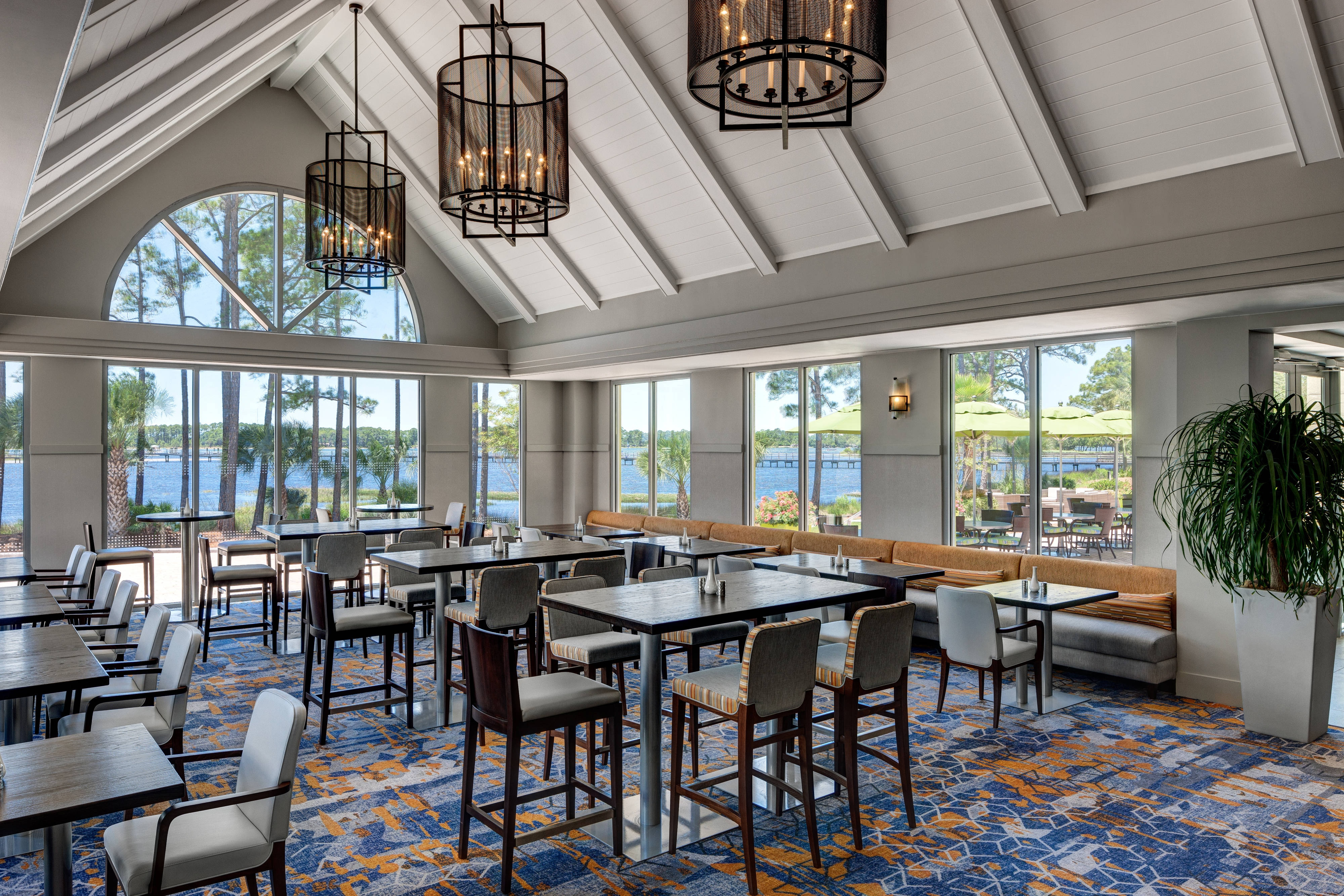 TIDES Restaurant and terrace