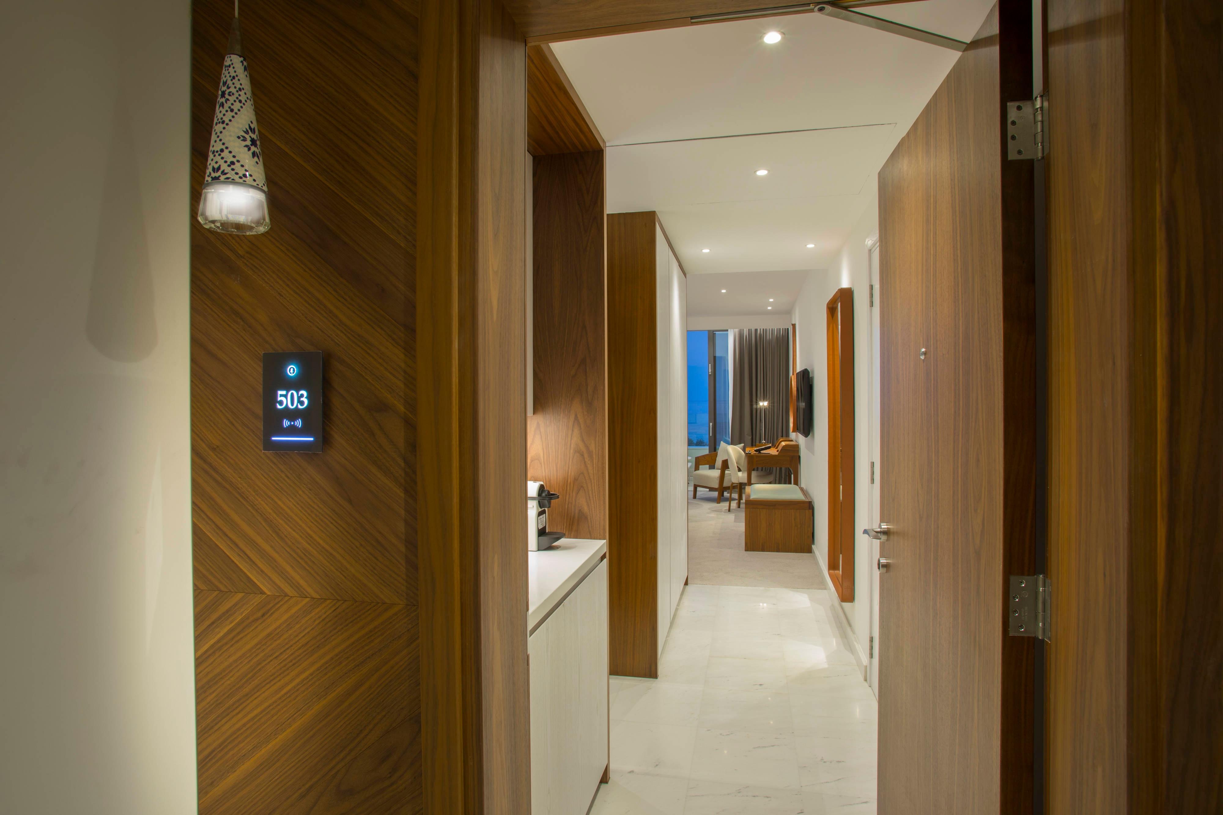 Premium Guest Room entrance