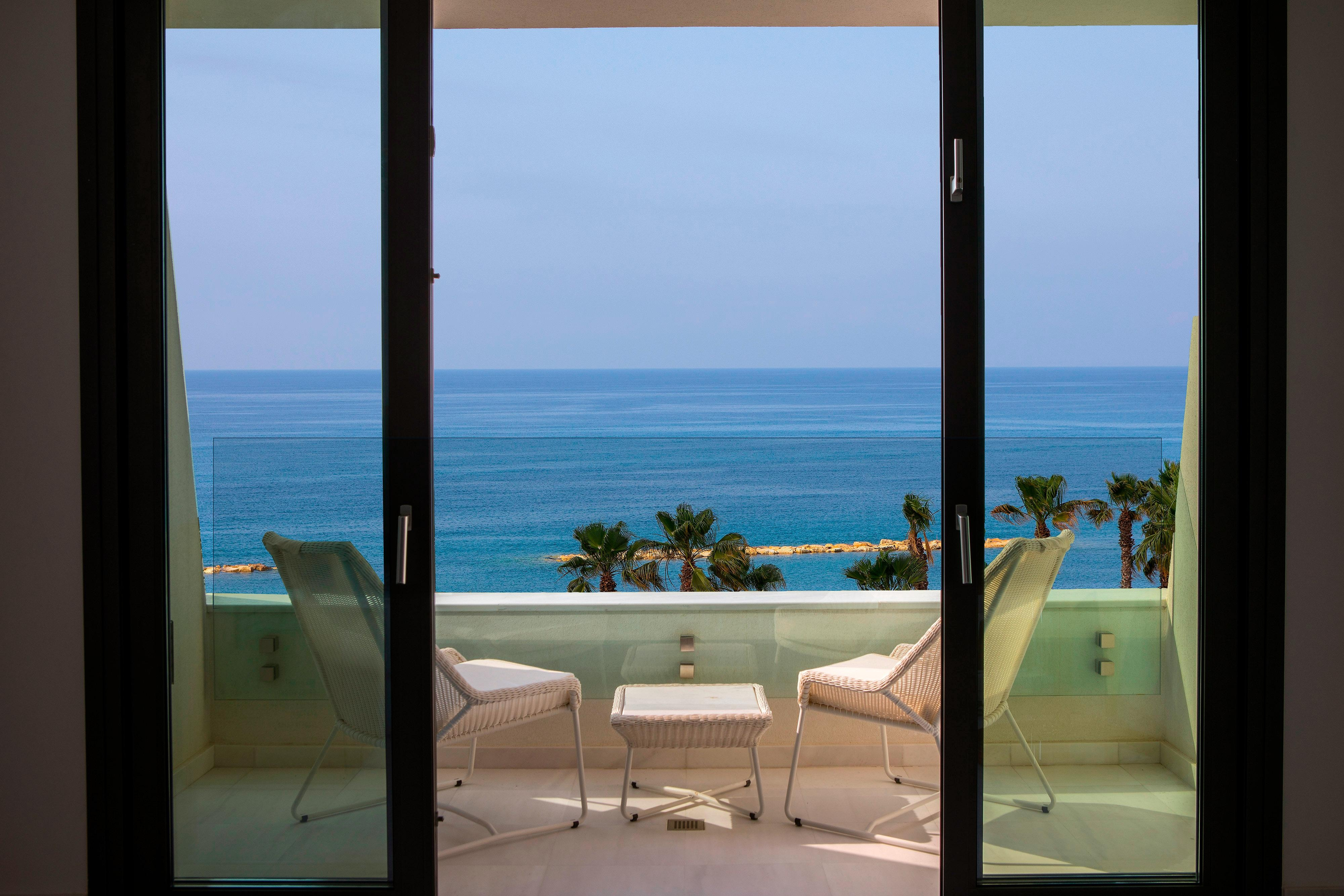 Guest Room Balcony with Sea View