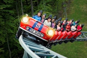 Verbolten Roller Coaster - Busch Gardens Williamsburg