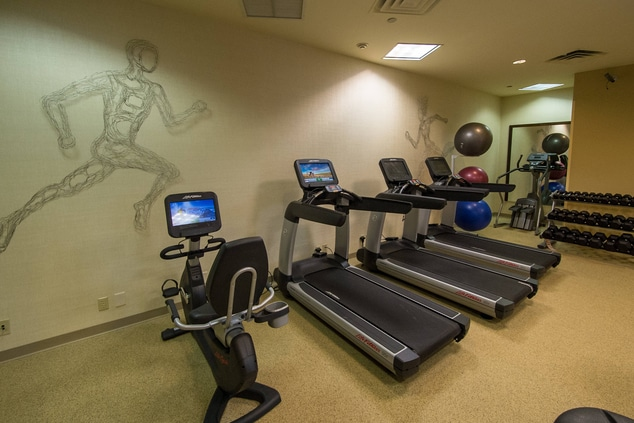 Philadelphia, PA hotel fitness center