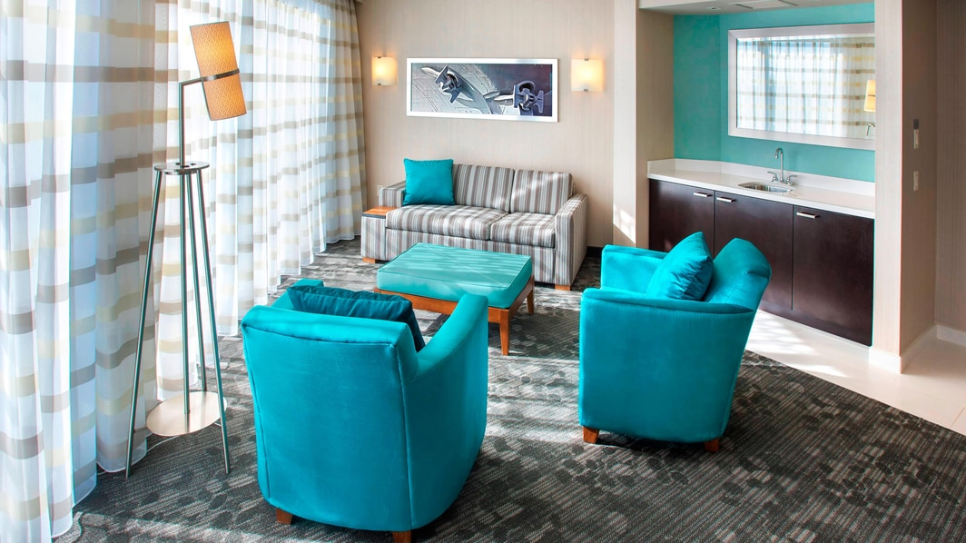 King Suite – Living Area