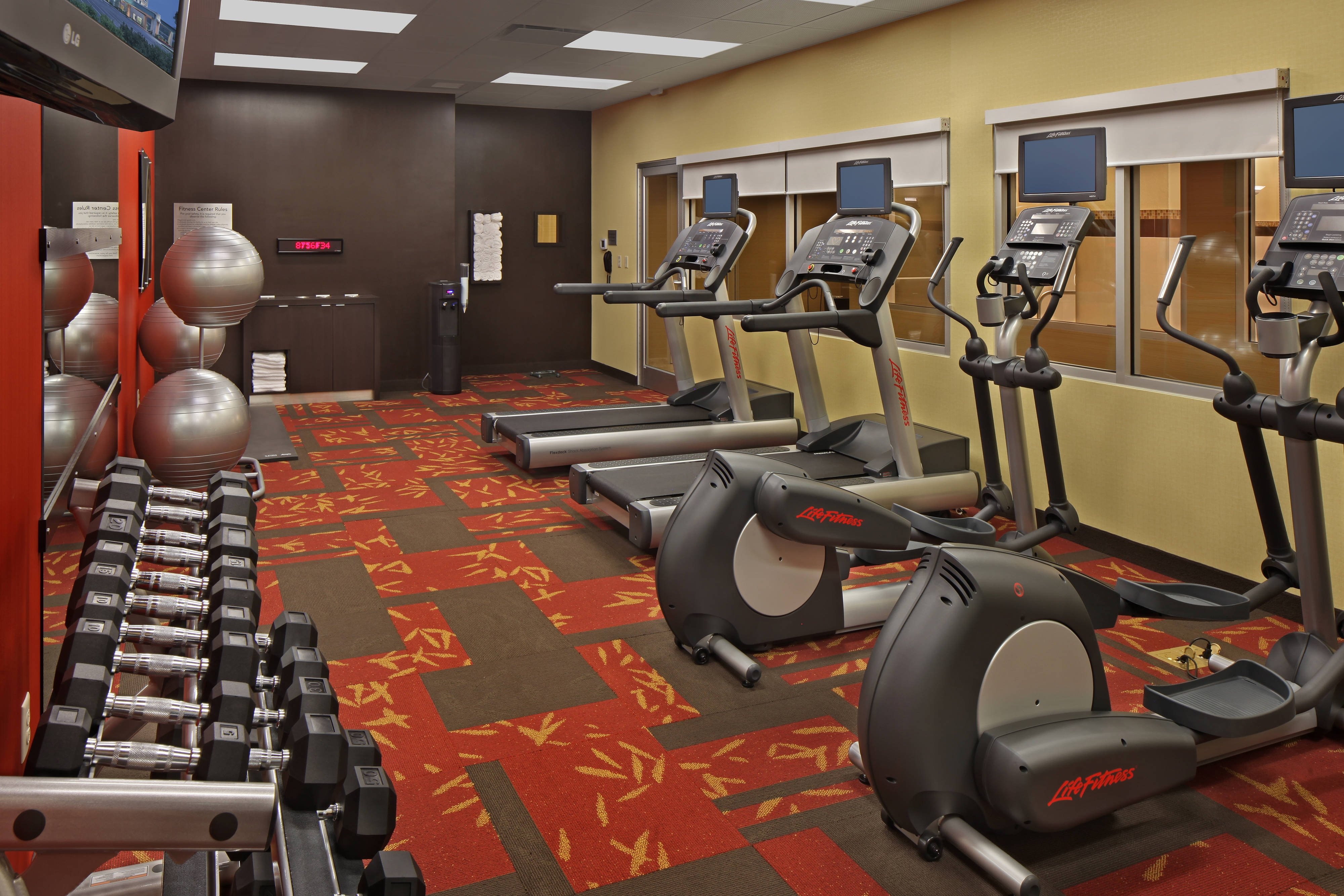 Coatesville Hotel Exercise and Fitness Center