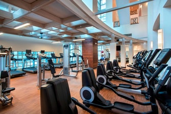 Fitness Center at Philadelphia Hotel